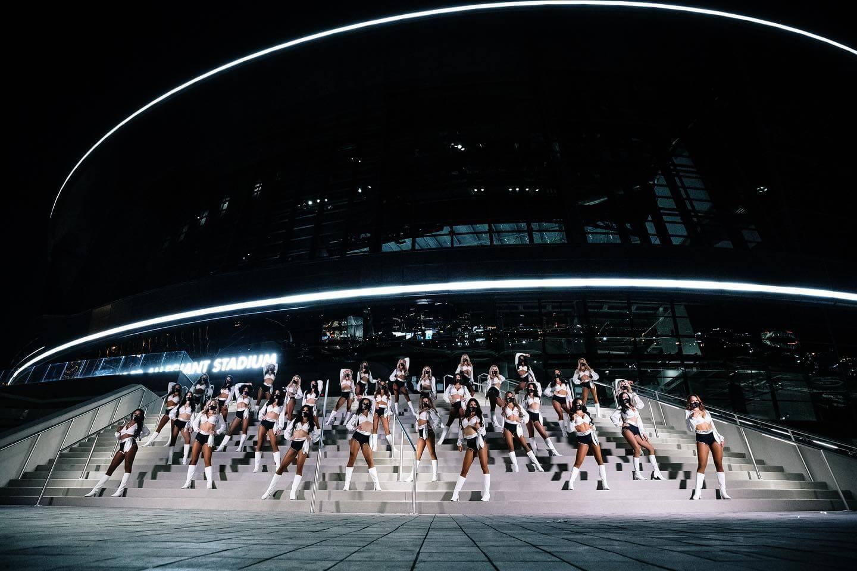 las vegas NFL dance team