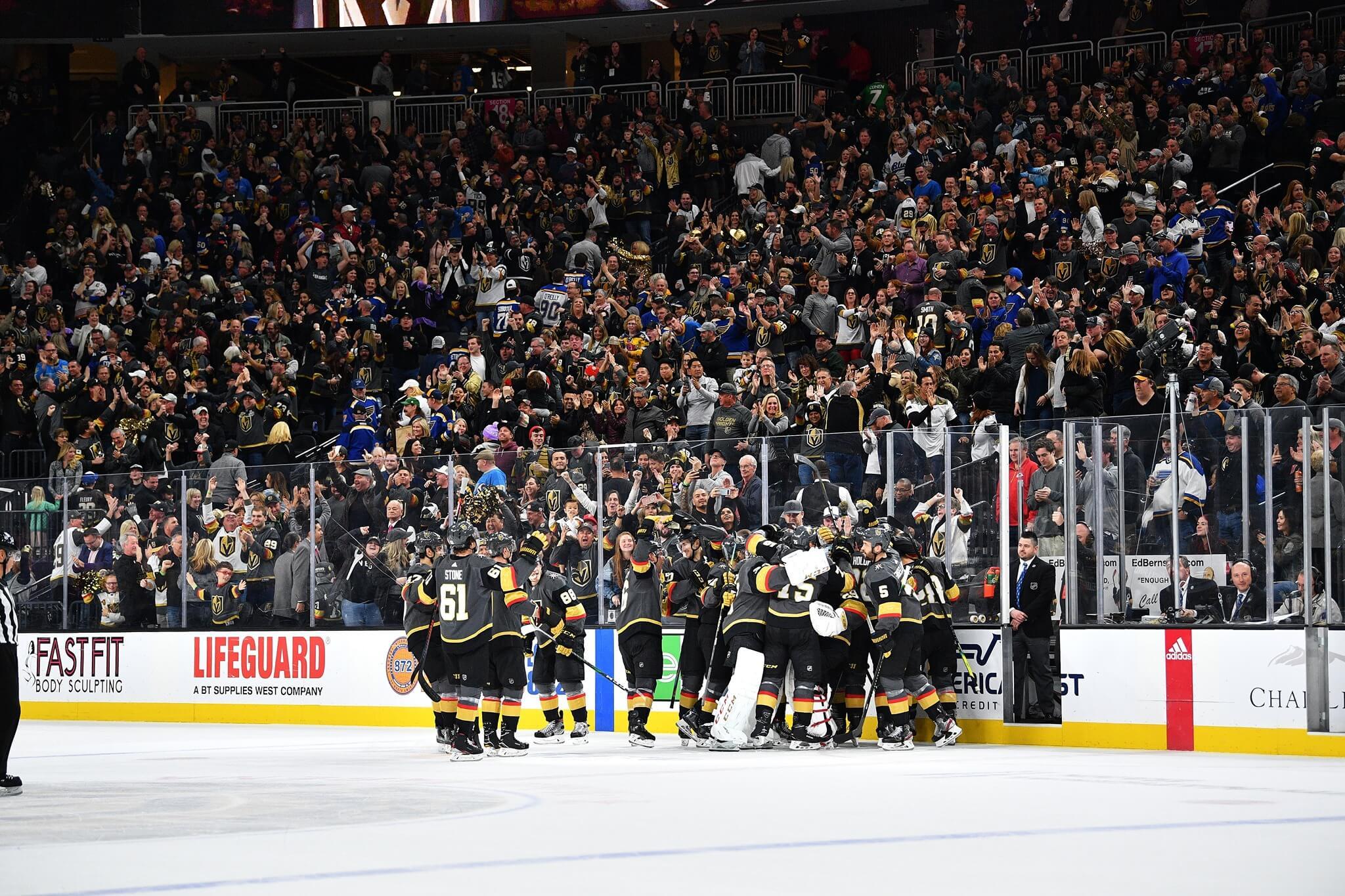 hockey game in las vegas